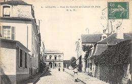 92 SCEAUX RUE DU MARCHE ET JUSTICE DE PAIX - Sceaux