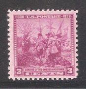 US 1938,Swedish-Finnish Tercentenary Issue,Sc 836,MNH** (SL-1) - Unused Stamps