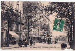PARIS-RUE DES PYRENEES A LA POSTE - Arrondissement: 20