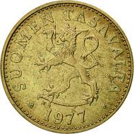Finlande, 50 Penniä, 1977, TTB, Aluminum-Bronze, KM:48 - Finlande