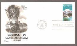 FDC 1989 WASHINGTON - 1981-1990