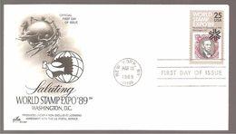 FDC 1989  WORLD STAMP EXPO 89 - Ersttagsbelege (FDC)