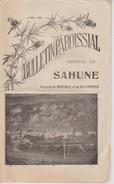 Bulletin Paroissial De Sahune Montreal Villeperdrix D'avril 1932 - Religion