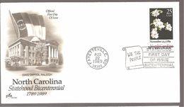 FDC 1989  NORTH  CAROLINA - 1981-1990
