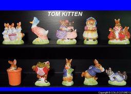 SERIE COMPLETE DE FEVES TOM KITTEN - Charms