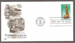 FDC 1989  AMERICA ISSUES - Ersttagsbelege (FDC)