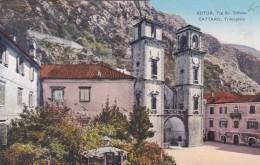 Kotor - Cattaro - Trifonplatz (11476) - Montenegro