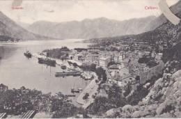 Kotor - Cattaro - Südseite * Karte Von 1909 - Montenegro