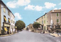 """Anglès La Raviège - Avenue De Castres (Commerces """"Au Temps Passé"""" Antiquités, Charcuterie, Monument Aux Morts) Circ - Angles"""