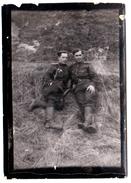 OLD Original Photo WW2 9x6сm Officers Soviet Army 1945 Russia Berlin Area (0884) - 1939-45