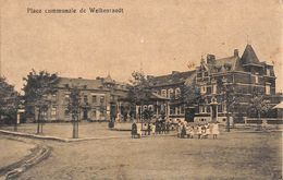 Welkenraedt - Place Communale (animée, Kiosque, Franchise Militaire 1919) - Welkenraedt