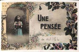 Une Pensée De Aubel (fille Gamine Fleurs) - Aubel