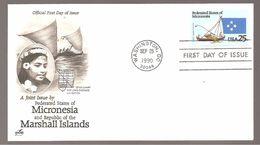 FDC 1990 MICRONESIA - Ersttagsbelege (FDC)