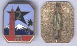 Insigne Du 2e Régiment De Tirailleurs Marocain - Armée De Terre
