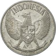 Indonésie, 50 Sen, 1959, TTB, Aluminium, KM:14 - Indonesia