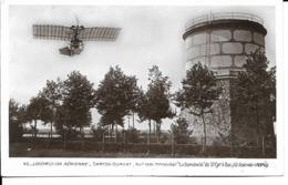"""Aviation - Santos-Dumont Sur Son Monoplan """"La Demoiselle"""" De St Cyr à Buc (13/9/1919) - Aviateurs"""