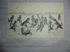 Illustrateur  Louis Wain  Chats Personalisés  Chat  Katten  Kat  Hockey - Wain, Louis