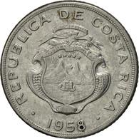 Costa Rica, 5 Centimos, 1958, TTB+, Stainless Steel, KM:184.1a - Costa Rica