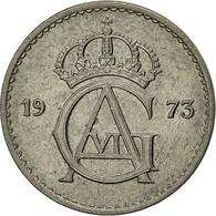 Suède, Gustaf VI, 25 Öre, 1973, TTB, Copper-nickel, KM:836 - Suède