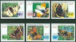 BENIN 1998 BUTTERFLIES** (MNH) - Schmetterlinge
