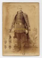 Photographie Ancienne Soldat Du 124e Régiment Photo Militaire - Guerre, Militaire
