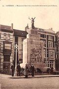 Ostende - Monument à La Mémoire Des Héros Morts Pour La Patrie (animée, Edit Georges, 1931) - Oostende