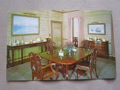 Shelburne Museum, Shelburne, Vermont 05482. Electra Havemeyer Webb Memorial. Dining Room. Vt.1019 K 108831 - Etats-Unis