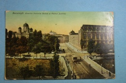 Bucuresti Biserica Domnita Balasa Si Palatul Justitiei - Roumanie
