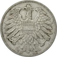 Autriche, Schilling, 1947, TB+, Aluminium, KM:2871 - Autriche