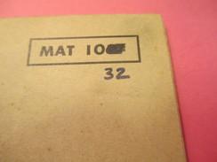 Fascicule/Guide Technique Sommaire / Fusil Semi-Automatique 7,5 Mm/Ministère Des Armées Terre /MAT1067/1958   VPN120 - Libri, Riviste & Cataloghi