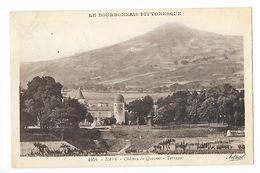 LAPS  (cpa 63)  Château De Quayres - Terrasses -     - L 1 - Autres Communes