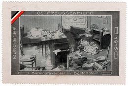 (I.B-CK) Germany (Great War) Cinderella : East Prussia Aid Fund (Bartenstein) - Germany