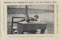 ASSOCIATION DES ORPHELINS DE GUERRE - PARIS - - Patriottisch