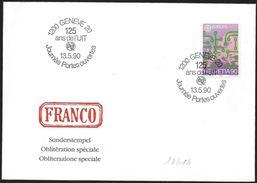 Svizzera/Suisse/Switzerland: UIT, Unione Internazionale Delle Telecomunicazioni, International Telecommunication Union, - Télécom