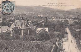 Cp , 63 , ROYAT , L'Avenue De Royat, Vue Prise Du Viaduc - Royat