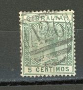 GIBRALTAR - SOUVERAINS - N° Yvert 22 Obli. - Gibraltar