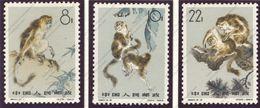 China, Yvert 1498/1500, Scott 713/715, MNH - 1949 - ... Repubblica Popolare