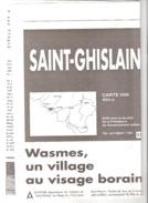 Saint-Ghislain-Quiévrain (Boussu-Wasmes)-Carte IGN-45/5-6-1/25000+texte (régionalisme)-edit.Vers L'Avenir-1996 - Topographical Maps