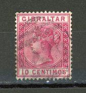 GIBRALTAR - SOUVERAINS - N° Yvert 23 Obli. - Gibraltar