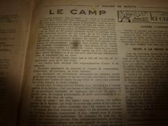 1947 LSDS  La Discipline Dans Les CAMPS Des Guides Des SCOUTS De FRANCE;Lugubre Affaire Entre Deux Châteaux Du CANIGOU - La Semaine De Suzette
