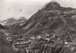 Barrage De La Grande Dixence En Construction. N. écrite. Etat Neuf - VS Valais
