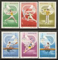 Romania 1980 Mi# 3733-3738 ** MNH - 22nd Summer Olympic Games, Moscow - 1948-.... Republics
