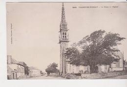 26316 Plonevez Porzay -place L'église -3468 Villard Eglise Cimetiere -karten Bost - Plonévez-Porzay