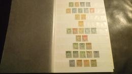 F0520 LOT FEUILLES FRANCE TOUS ETATS A TRIER BELLE COTE DÉPART 10€ - Sammlungen (im Alben)