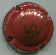 CJ-CAPSULE-CHAMPAGNE WAFFLART ANTONIOLLI N°14 Bordeaux & Or - Other