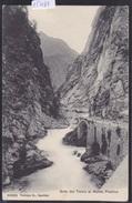 Gola Del Ticino Al Monte Piottino : Strada (sotto Rodi-Fiesso) - Ca 1906 (15'081) - TI Tessin