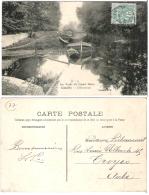 77 - COUILLY - Les Bords Du Grand Morin - L Abreuvoir   (péniche)   ***RARE*** - Francia