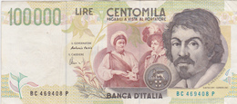 Billet ITALIEN 100000 Lire 1994. - [ 2] 1946-… : Républic
