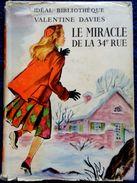 Valentine Davies - Le Miracle De La 34e Rue - Idéal-Bibliothèque / Hachette  - ( 1953 ) . - Ideal Bibliotheque