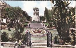 ALERIE----ALGER LA BLANCHE---l'horloge Florale Et Monument Aux Morts---voir 2 Scans - Alger